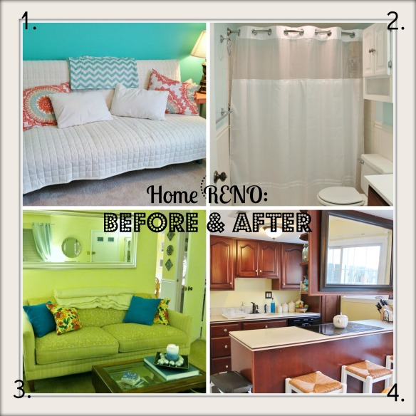home reno collage