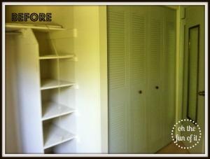 before spare closet