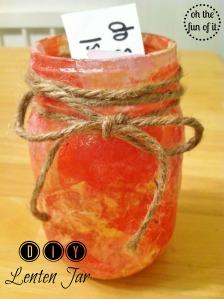 DIY Lenten Jars
