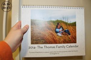 thomas family calendar