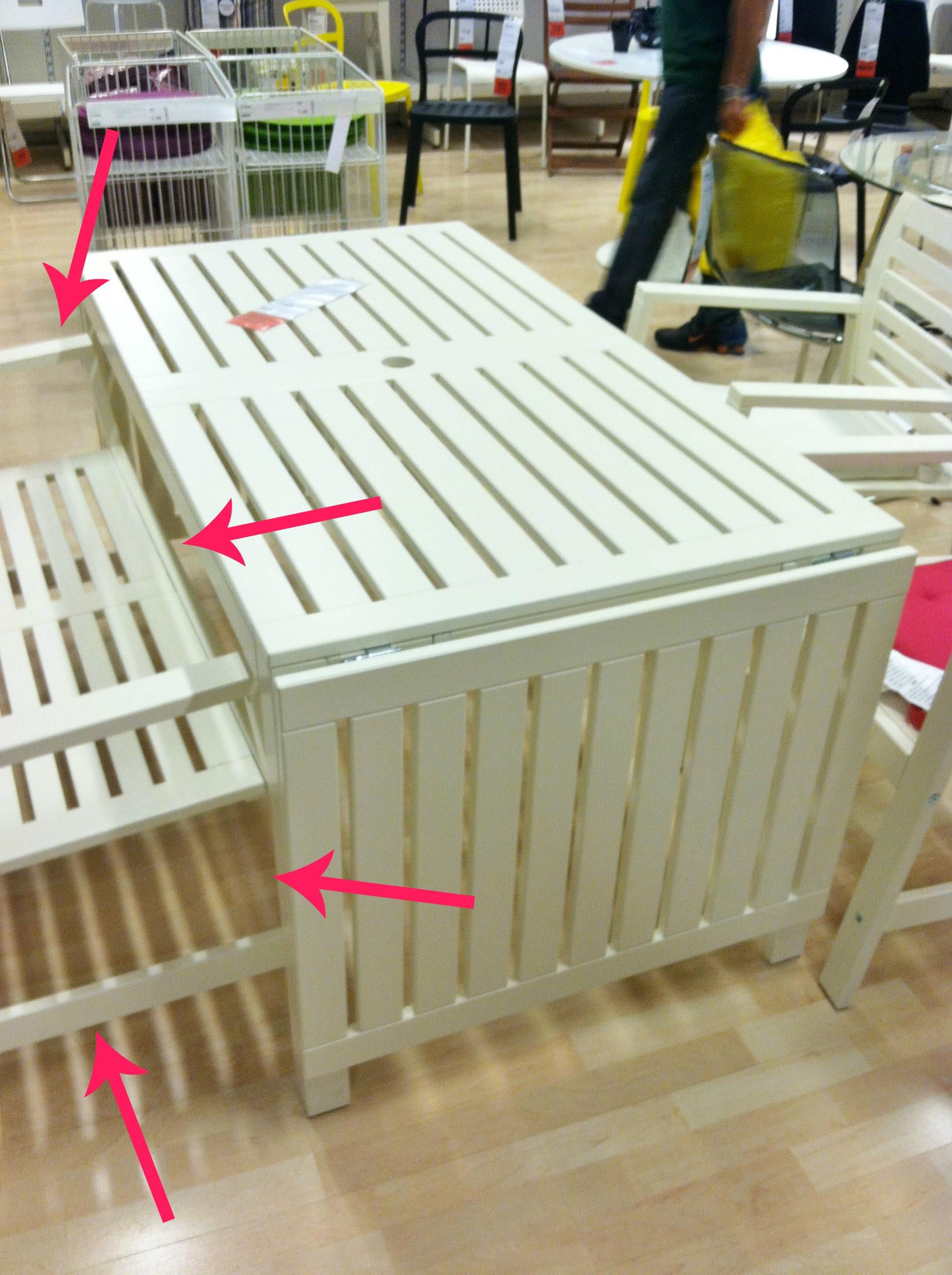 applaro drop leaf table oh the fun. Black Bedroom Furniture Sets. Home Design Ideas