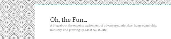 Oh, the Fun