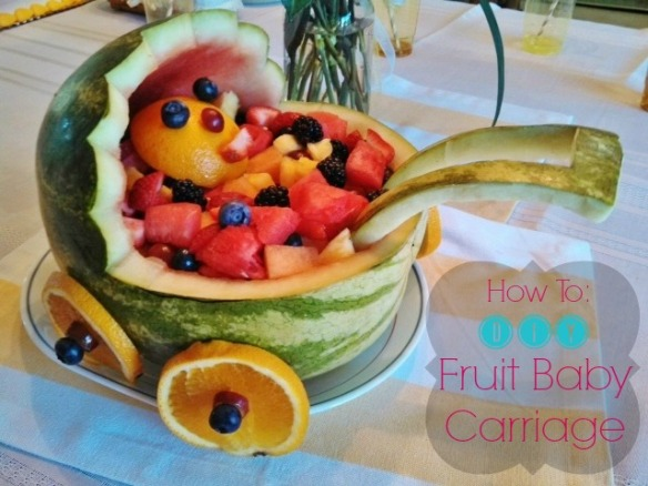 DIY Fruit Baby Carriage