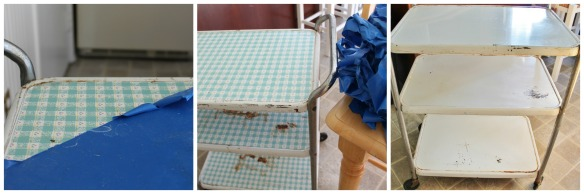 Bar Cart Step 1